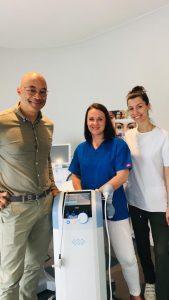UNISON du Laboratoire BTL un dispositif de médecine esthétique hyper performant et respectueux pour lutter contre la cellulite et l'effet peau d'orange.